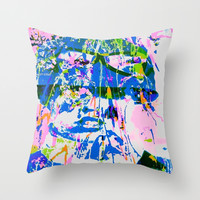 ECO POLY - MAZUNI STYLEE Throw Pillow by MADAME MAZUNI