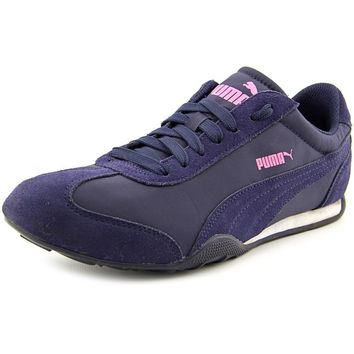 puma women s 76 runner fun sneaker peacoat 9 b m us  number 1