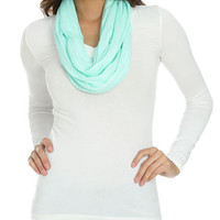 Jersey Knit Eternity Scarf | Shop Accessories at Wet Seal