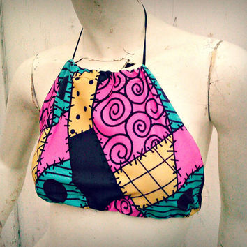 Sally Stitches Halter top one size fits most the Nightmare Before Christmas inspired