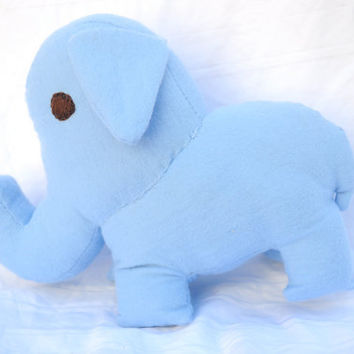 Elephant Stuffed Animal Alfie by RopeSwingStudio on Etsy