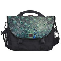 His Feathered Majesty Rickshaw Commuter Bag from Zazzle.com