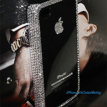 iPhone 5s case Crystal iPhone 5 case swarovski crystal Bling Bling iPhone 4s case iPhone 4 cover Back case iPhone4 cover iPhone 5c case