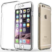 iPhone 6 Case, Caseology® [Waterfall Series] Scratch-Resistant Cover [Gold] [Clearback Bumper] for Apple iPhone 6 (2014) & iPhone 6S (2015) - Gold