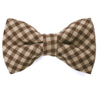 Tok Tok Designs Pre-Tied Bow Tie for Men & Teenagers (B170, 100% Cotton)