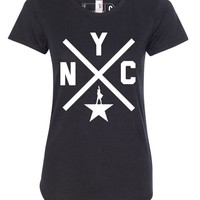HAMILTON NYC X Ladies Tee - Apparel