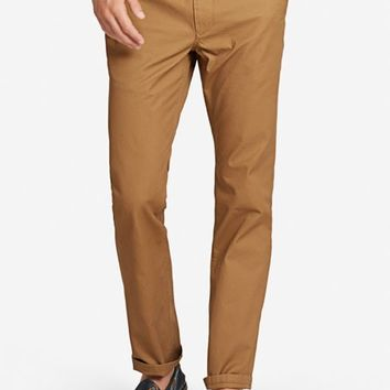 Bonobos - Slim Tailored Washed Chinos, Acorn Caps