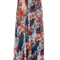 LA Hearts Watercolor Chiffon Maxi Skirt at PacSun.com