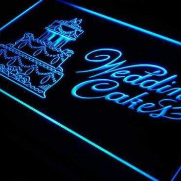 Bakery Wedding Cakes Neon Sign (LED)