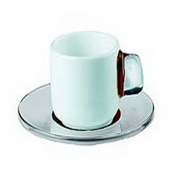 Guzzini InFusion 2 Brown Espresso Cup & Spoon Set