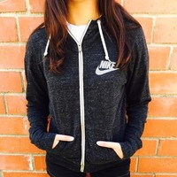 Nike Gym Vintage Zip-up Hoodie Jacket