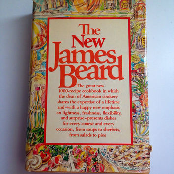 The New James Beard Cookbook 1981 First Edition with Dust Cover