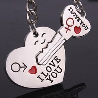 lovers key chain Creative gifts
