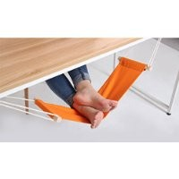 FUUT - Put your foot up on the hammock under the desk comfortable for Your foot Color in Random(Navy / Green / Pink / Yellow / White)