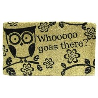 Whooooo Goes There? Owl Door Mat | Shop Hobby Lobby