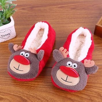 Flannel Home Slippers