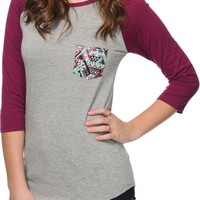Empyre Georgina Tribal Pocket Baseball Tee