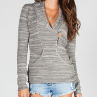 Rip Curl Connection Womens Sweater Grey  In Sizes