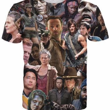 The Walking Dead Collage T-Shirt