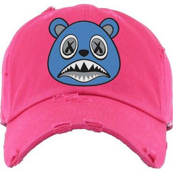 UNC BAWS Hot Pink Dad Hat