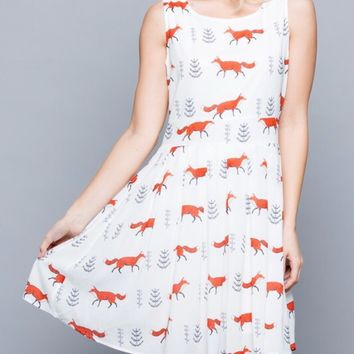 Flirty Fox Dress