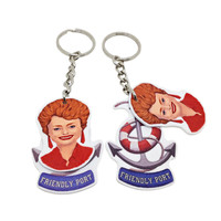 Golden Girls - Blanche keychain
