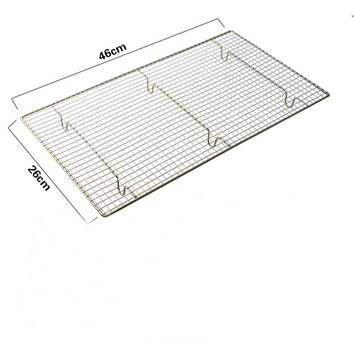 Carbon steel Nonstick Cooling Rack Cooling Grid Baking Tray For Biscuit/Cookie/Pie/Bread/Cake Baking Rack free shipping