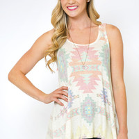Painted Desert Sleeveless Tunic