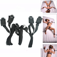 Bondage Bed Restraint Straps Fetish Kit Love Sex Hand Ankle Couples Sex Toys