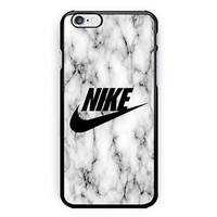 Nike Logo White Marble Best Seller Print On Hard Case For iPhone 6s Plus