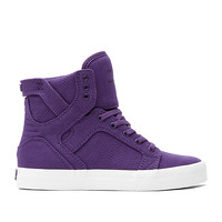 SUPRA Footwear™ | Official Store | KIDS SKYTOP | PURPLE - WHITE