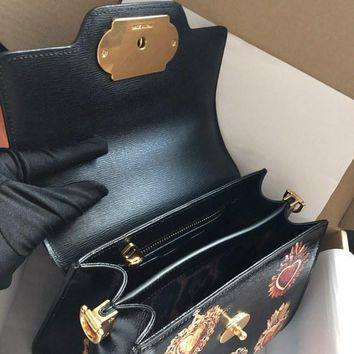 DCCK D006 Dolce Gabbana Fashion Handbag Black