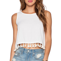 Kain Sandy Tank in White