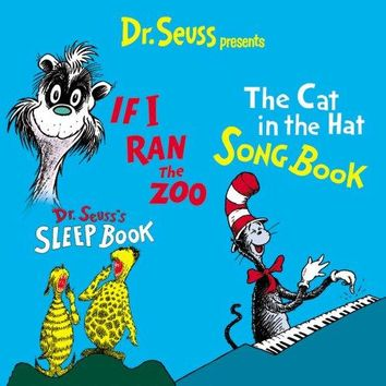 Dr. Seuss - Dr. Seuss Presents Cat In The Hat Songbook, If I Ran The Zoo, Dr. Seuss' Sleep Book