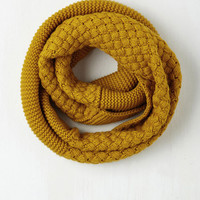 Yellow Brick Cold Scarf by ModCloth