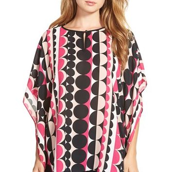 Women's Vince Camuto 'Retro Dots' Poncho Top,