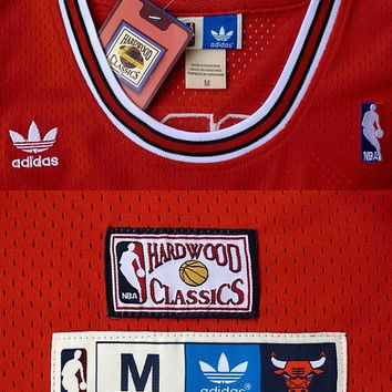 Dennis Rodman Chicago Bulls 91 Throwback Swingman NBA Red Basketball Hardwood Classic Rare Jersey All Stitched and Sewn Any Size S - XXL