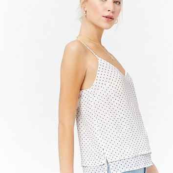 Layered Polka Dot Cami