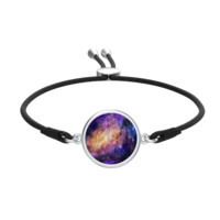 Watercolor Galaxy Cord Bracelet