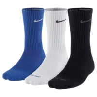 Nike Dri-FIT Half-Cushion Crew (3 Pair) Training Socks