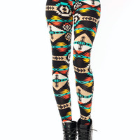 tribal-leggings BLACKMULTI - GoJane.com