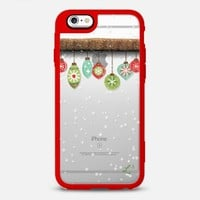 Holidays Dangling Ornaments iPhone 6s case by Love Lunch Liftoff | Casetify