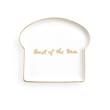 Toast of the Town Porcelain Plate