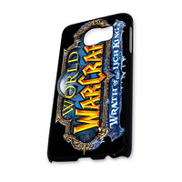 Warth of The Ligh King Game World of Warcraft Logo Samsung Galaxy S6 Case