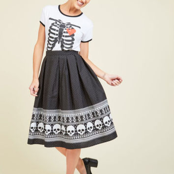 Happy Skull-idays Skirt