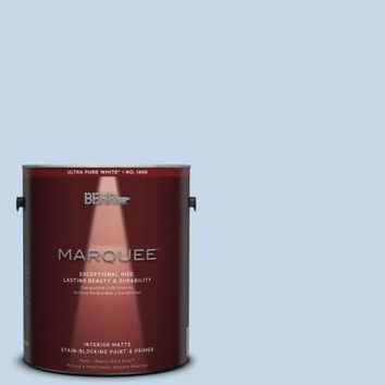 BEHR MARQUEE 1-gal. #MQ3-24 Celestial Light Matte Interior Paint-145001 - The Home Depot