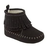Old Navy Moccasin Style Boots For Baby