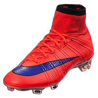 Nike Mercurial Superfly FG - Bright Crimson/Black/Bright Citrus - Intense Heat || SOCCER.COM