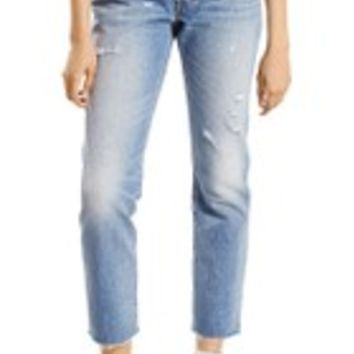 Levi's® 501 High Waist Skinny Jeans (Post Modern Blues) | Nordstrom