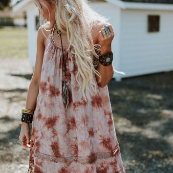 Arizona Nights Tie Dye Layering Dress